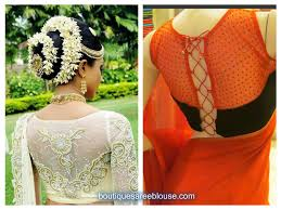 Latest Net Blouse Back Designs Blouse Styles Net Blouse Back Neck Designs Photos