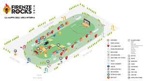 Firenze Rocks La Mappa E Il Regolamento Del Festival I Percorsi