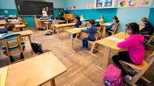 How Reopened Schools In Denmark Keep Children Safely Apart Bbc News