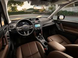 2017 subaru forester drivers view interior manufacturer gallery worthy