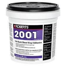 felt back sheet vinyl glue adhesive superior grade