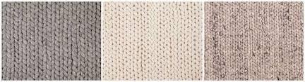 making of braided woolrug
