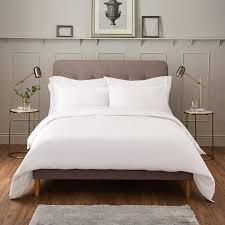 ijp luxury 600tc king duvet cover white