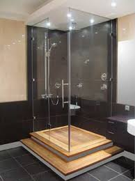 glass shower design. Perfect Shower Bedroom With Glass Shower Enclosure New Interior Design Trend Throughout Glass Shower Design O