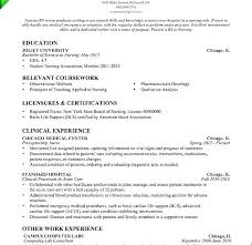 New Grad Nursing Resume Template New Lpn Resumes Examples New Graduate Resume Template Objective