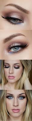 learn how to pop your beautiful eyes with this brown eye makeup for blue eyes ideas from daytime to night time makeup there s one for you