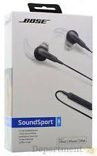 bose headphones sport box. bose sound sport in-ear headphones( black) headphones box