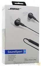 bose headphones sport box. bose sound sport in-ear headphones( black) headphones box
