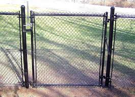 chain link fence gate lock. Double Gate Chain Link Fence Design Plans Lovely  Gates Fences Lock R