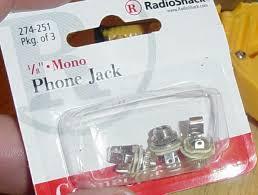 how to er how to er basic 1 4 jacks radio shack