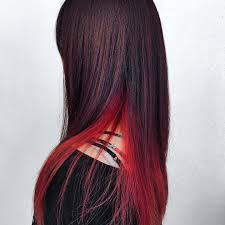 ヘアカラーインナーカラー人気色髪色や長さ別スタイル集