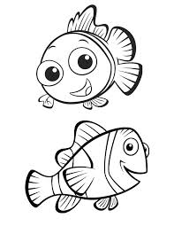 Finding Nemo Coloring Pages Clipart Library Clipart Library
