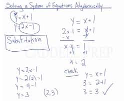 equations using substitution