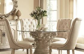 White Tufted Dining Room Chairs