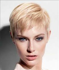 short pixie hairstyle for women with fine hair