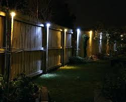 solar lights for outdoor fence lighting fabulous led string lights outdoor