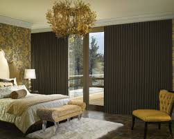 Master Bedroom Drapery Brown Curtains In Bedroom