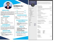Create A Professional Cv Ali9909 I Will Create A Professional Cv For You For 5 On Www Fiverr Com