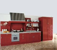 Unique Kitchen Furniture Best And Cool Red Kitchen Cabinets For Dream Home