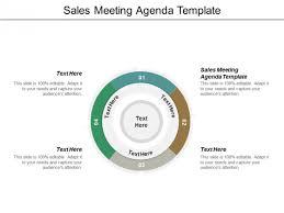 Sales Meeting Agenda Template Ppt Powerpoint Presentation