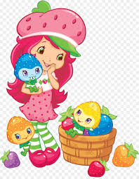 shortcake in strawberry blueberry game cartoon character