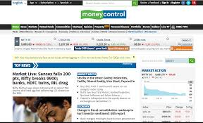 Nse Chart Moneycontrol 7 Must Know Websites For Indian Stock Market Investors
