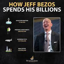 HOW JEFF BEZOS SPENDS HIS BILLIONS ...