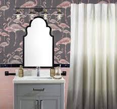 Pink Tile Bathroom Refresh — T MOORE ...