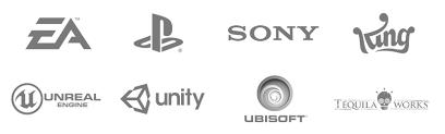 Una vez que hayas terminado de diseñar el logo de tus sueños, seguramente lo vas a querer usar en todos lados. Logos Videojuegos Web Esne Escuela Universitaria De Diseno Innovacion Y Tecnologia