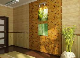 decorating with bamboo poles