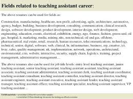Covering Letter For Teaching Assistant Teaching Assistant 3 Covering
