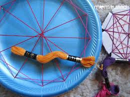 Easy Geometric String Art for Preschoolers string 7 1024x768