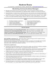 Template Digital Marketing Resume Template 10 Best Cv Examples