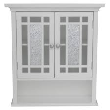 bathroom wall cabinets. elegant home fashions winfield 22 in w x 24 h 7 d bathroom storage wall cabinet with mosaic glass whitehdt527 the depot cabinets
