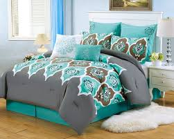 More 5 Cute Teal White And Silver Bedroom Ideas