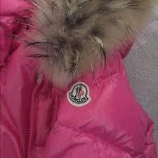 Moncler Jackets   Coats - BABY GIRL MONCLER COAT GENUINE FUR COLLAR 6-9 mths