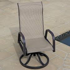 52 swivel sling patio chairs patio furniture with swivel chairs darlee monterey sling timaylenphotography com