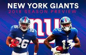 New York Giants 2018 Nfl Season Preview Givemesport