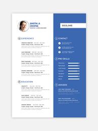Entry 74 By Sayed16 For Cv Resume Template Design Freelancer