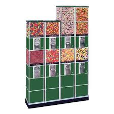 Coffee Capsules Vending Tower Machine Best Beaver Double Decker Candy Gumball Toy Capsule Tower System