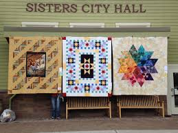 Sisters Quilt Show & Sisters Oregon City Hall Adamdwight.com