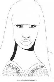 Small Picture Get This Nicki Minaj Coloring Pages To Print 72845