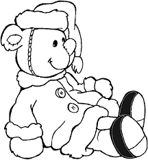 Small Picture Teddy Bear Coloring Page PdfBearPrintable Coloring Pages Free