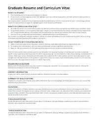 Resume For Graduate School Example The Proper Graduate School