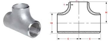 Pipe Tee Dimensions Chart Asme B16 9 Tee Buttweld Equal And Reducing Tee Manufacturer