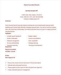 accoutant resumes accountant resume 10 free word pdf documents download free