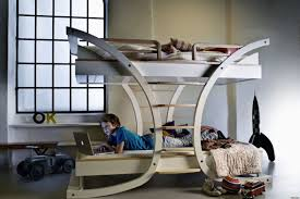 beautiful  modern bunk beds for adults   round pulse