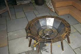 how to build outdoor gas fire pit natural gas fire pit fireplace design ideas with regard