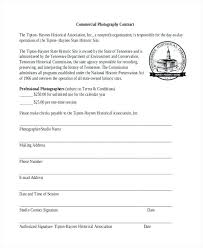 Photography Contracts Photography Business Contract Template