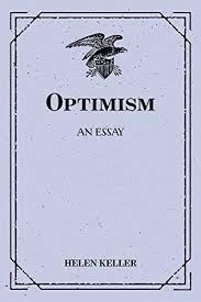 optimism by helen keller